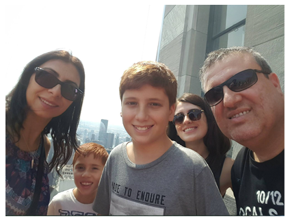 Facebook Family Hanging out in NYC